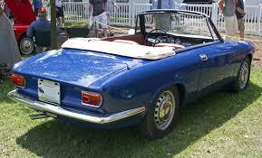 File 1966 Alfa Romeo Giulia Gtc Spider Rear Jpg Wikimedia Commons