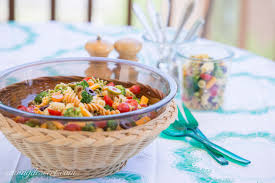 Best Pasta Salad by Easy Pasta Salad With Zesty Italian Dressing Saving Room For Dessert