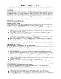 It Program Manager Resume Sample Project Manager Cover Letters Gallery Cover Letter Ideas