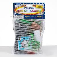 passover masks 10 plagues passover bag of plagues