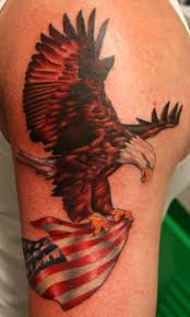 american eagle tattoo in shoulder tattoos pinterest eagle
