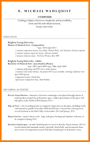 Resume Samples Education Section by Resume Examples Byu Resume For Your Job Application