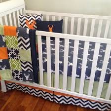 Orange Crib Bedding Sets Crib Bedding Baby Bedding Boy Crib Set Navy And Orange Nursery