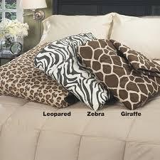 luxury 300 thread count animal print down throw free shipping on