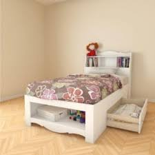 twin storage bed with bookcase headboard open travel