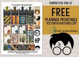 Harry Potter Designs Harry Potter Printable Victoria Thatcher