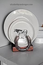 horseshoe plate holder horses are everywhere pinterest plate
