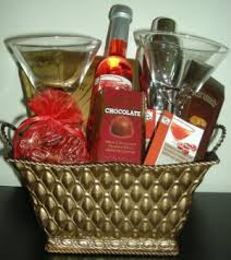 martini gift basket loubon exclusive gift baskets mini martini gift