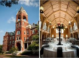 cheap wedding venues in ga top 5 college wedding venues in the celebration society
