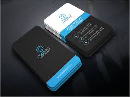 premium business card template for professional photographers