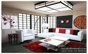 Asian Living Room Design  Sleek And Comfortable Asian Inspired - Asian living room design