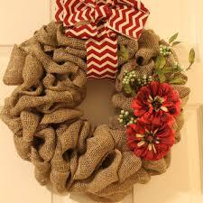 christmas burlap wreaths best burlap ribbon wreath products on wanelo