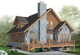 house plans with rear view country house plan with 3 bedrooms and 2 5 baths plan 1142