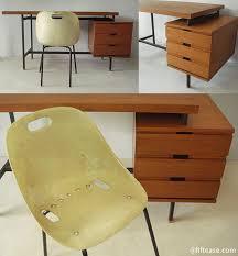 bureau guariche guariche guariche bureau en teck à plateau
