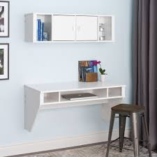 Metal Computer Desk With Hutch by Furniture Mesmerizing Ikea Floating Desk For Home Furniture Ideas