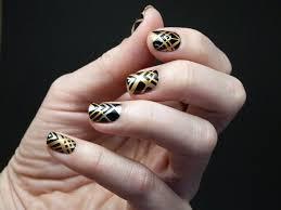 scotch magic nails art deco tutorial
