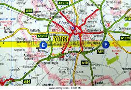road map of york york map uk stock photos york map uk stock images alamy