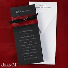 Red And Black Wedding Invitations Red And Silver Grey Wedding Invitation By Neotericexpressions