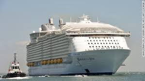 largest cruise ship in the world harmony of the seas crew member killed in accident on ship cnn