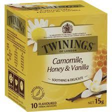 twinings chamomile honey vanilla tea bags 10pk 15g woolworths