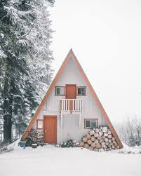 this prefabricated a frame sold by a company called stanmar inc snowy mountain a frame cabin
