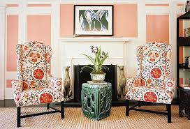Interior Design Fireplace Living Room The Essential Guide To The Wingback Chair One Kings Lane