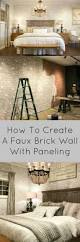 Faux Brick Kitchen Backsplash by Best 25 Faux Brick Panels Ideas On Pinterest Faux Brick