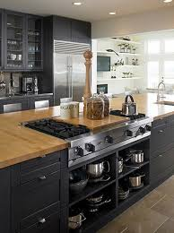 creative kitchen islands with stove top makeover ideas 16