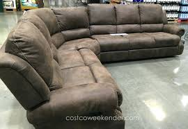 Leather Reclining Loveseat Costco Costco Leather Reclining Sofa Set Electric Recliner 15774 Gallery
