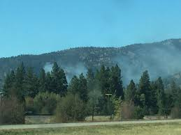 Wildfires Near Montana by Update On The Fire Burning Near Clinton Mtpr