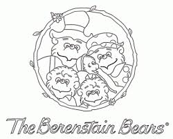 berenstain bears thanksgiving berenstain bears coloring pages page 1 within berenstain bears