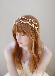 gold hair accessories that glint of gold your hair sparkle for your big day