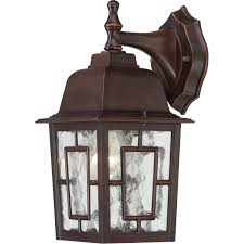 outdoor rustic lighting nuvo 60 4922 1 light 12