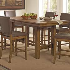 counter height dining table with leaf rustic counter height dining table mediajoongdok com