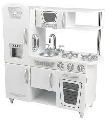 amazon cuisine enfant kidkraft 53208 cuisine vintage blanche amazon fr jeux et jouets