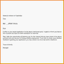 job rejection letter lukex co