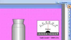 tishitu scada basic tank filling plant by intouch wonderware youtube