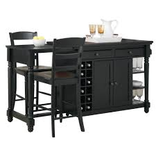 Kitchen Islands With Seating For 3 by Grand Torino Kitchen Island U0026 Two Stools Homestyles