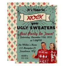 ugly sweater party invites poster ideas ugliest christmas
