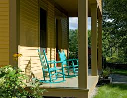 front porch chairs porch farmhouse with deck entrance entry