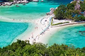 koh nang yuan sand bar thailand koh samui hotels first
