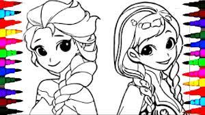 frozen coloring pages elsa anna coloring pages glum