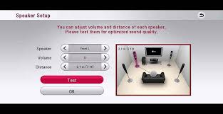 ultimate audio video setup lg help library audio menu settings soundbar sound plate home