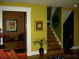 interior design colour schemes with yellow wall paint ideas new