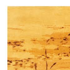 Gold Rugs Contemporary Water Dance Gold Rug N10838 By Doris Leslie Blau
