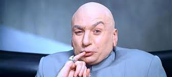 Dr Evil Meme - how much money should dr evil demand robert kaplinsky