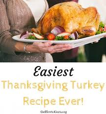 thanksgiving turkey the easiest way countdown to thanksgiving