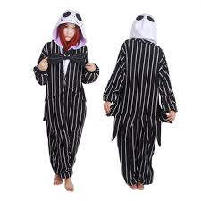Jack Skellington Halloween Costume Aliexpress Buy Novelty Pijamas Santa Claus Anime Jack