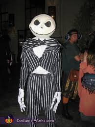 Jack Skellington Costume Diy Jack Skellington Costume Tim Burton U0027s Nightmare Before Christmas