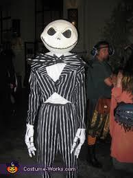 Jack Skellington Halloween Costume Diy Jack Skellington Costume Tim Burton U0027s Nightmare Christmas